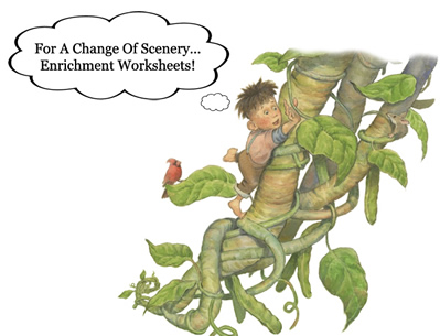 Enrichment Worksheets - From Jim Harris Books