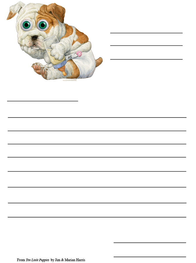 Friendly Letter - Bulldog