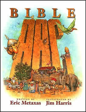 The Bible ABC.  Funny pictures of Bible characters from A to Z.  Illustrated by Jim Harris