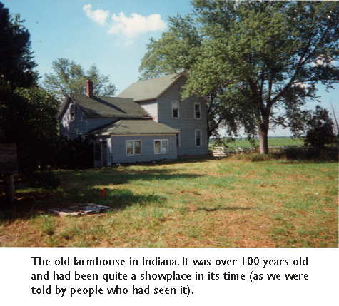 The old farmhouse in Indiana.  A great place to start an illustration career…  lots of open space… and nobody cares if you spill a lot of paint.