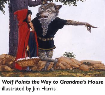 Jim Harris Illustrator Steps In Illustrating A Children